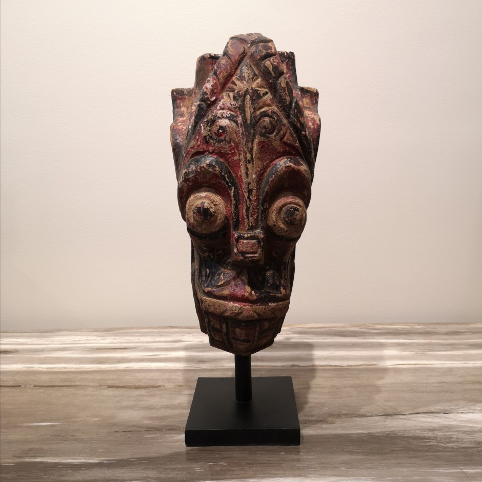 Sculpture de lion Batak