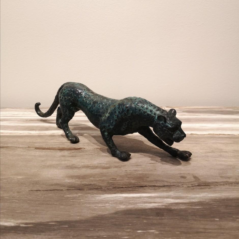 Jaguar en laiton de Java