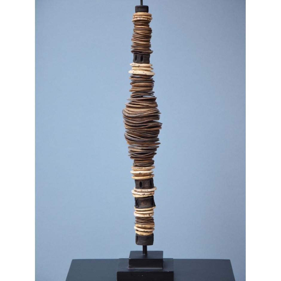 Sculpture de monnaie de Papouasie