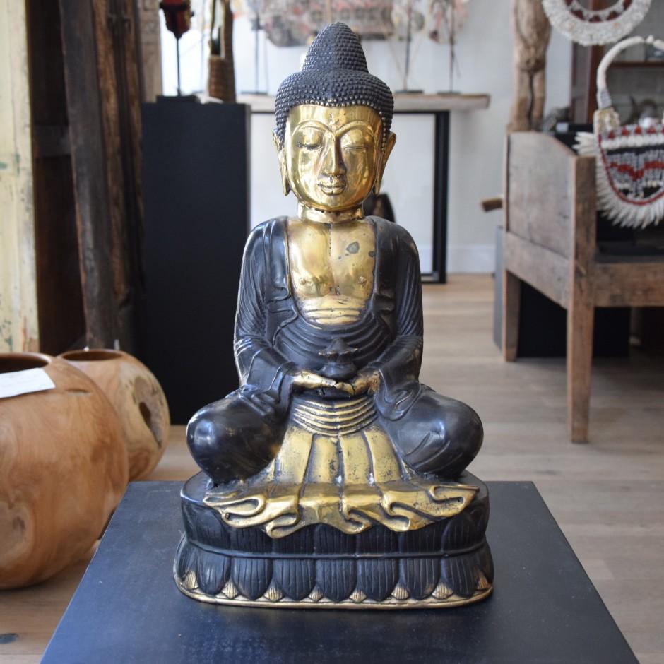 Bouddha en laiton de Java