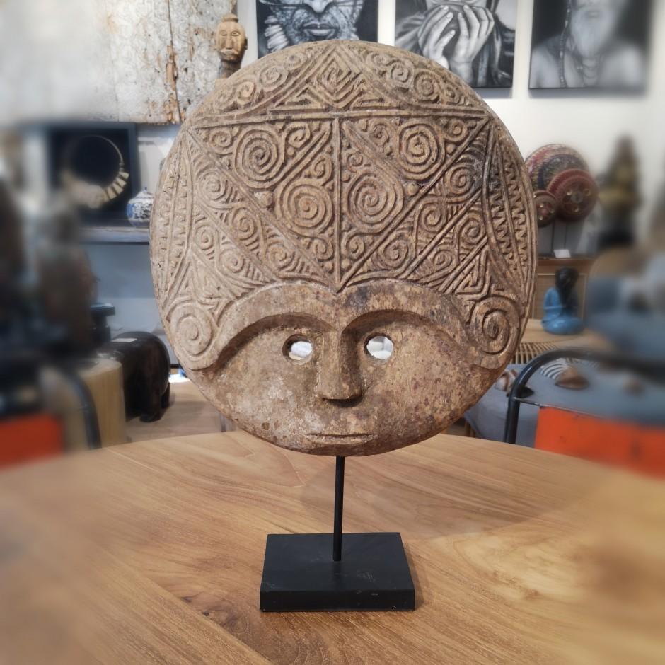 Masque Pitai en bois de Timor