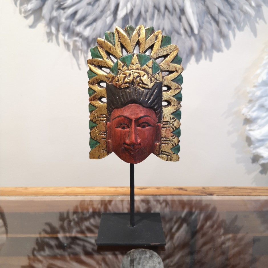 Tête de Loro Blonyo de Java
